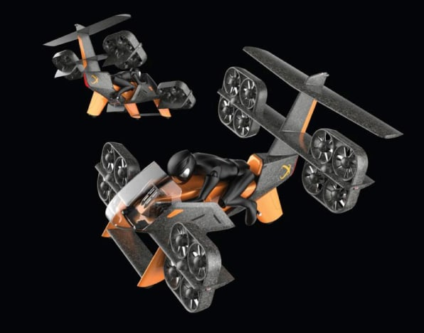 Meet the mad geniuses building personal flying machines