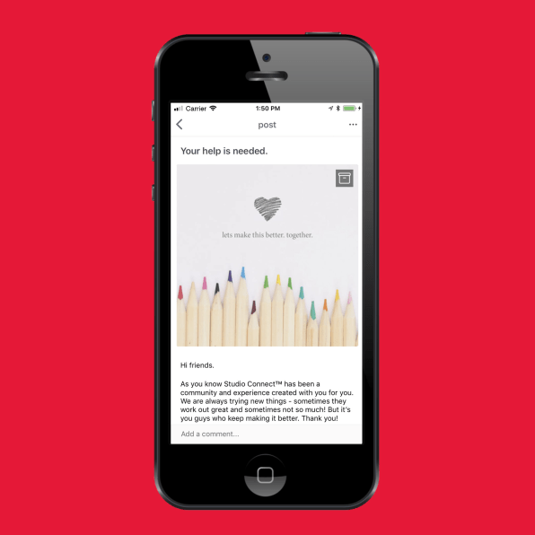 Target has a secret app for superfans, and it looks like Instagram