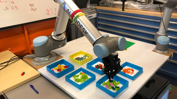 Autodesk's Lego model-building robot is the future of
