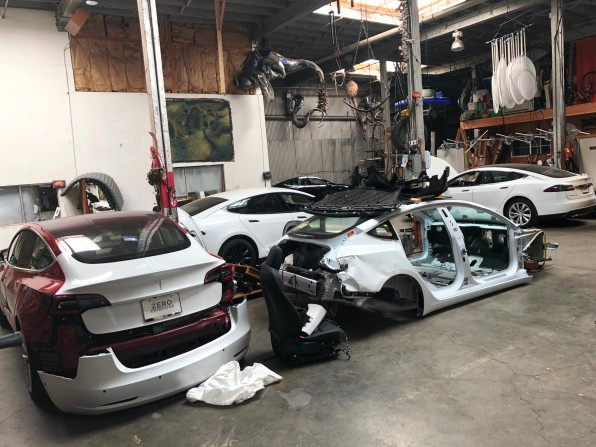 Meet the renegade who's teaching the world to fix totaled Teslas