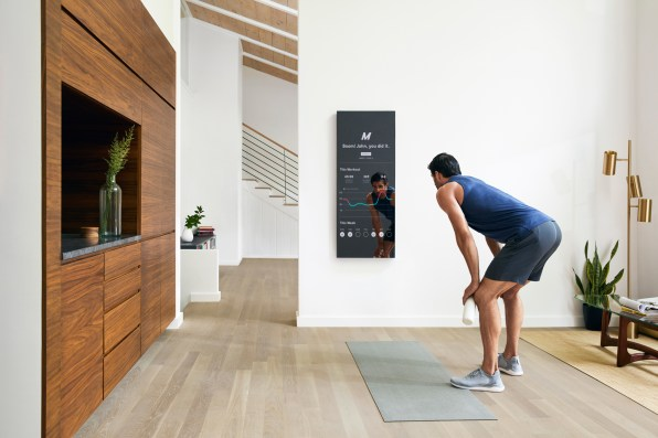 Connected Fitness Device Mirror Brings Pilates Yoga Home