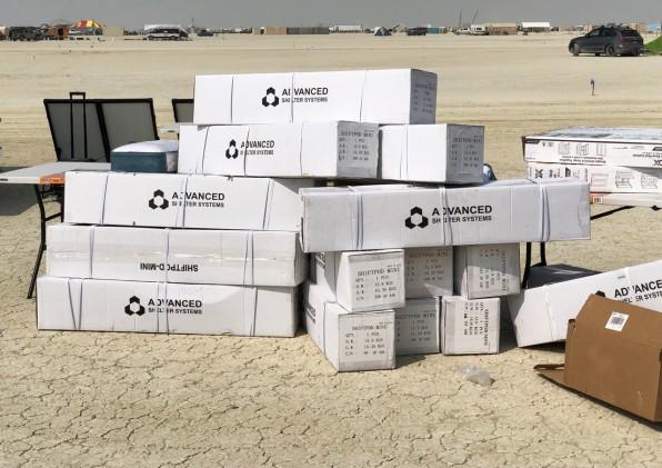 How the ShiftPod won Burning Man