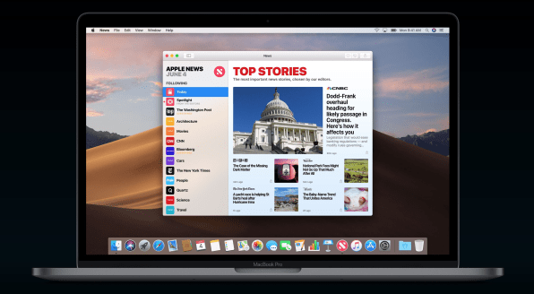 The best new features of Apple's MacOS Mojave