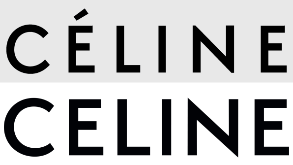 The Fashion Houses Newly Unveiled Logo Below Edits The Previous Rendition Above By Omitting The Accent Over The E And Adjusting The Letter Spacing