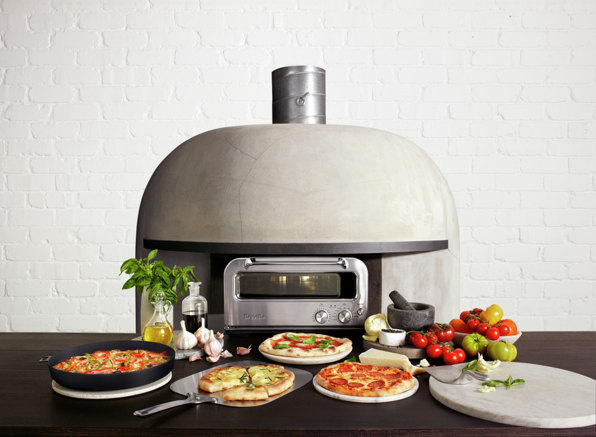 We Ve Reached Peak Pizza Breville S 800 At Home Pizza Oven