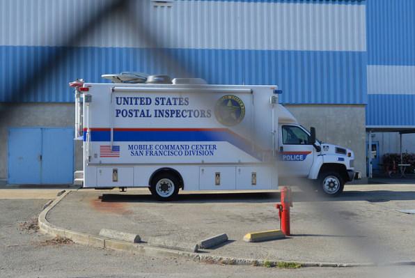 Suspicious packages spotlight vast mail surveillance system