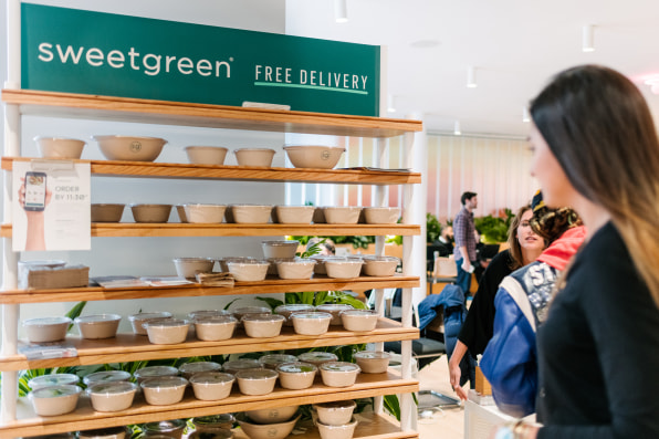 WeWork adds Sweetgreen salads, but strays from