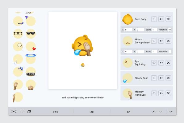 Emoji Builder Lets You Design Your Own Emoji