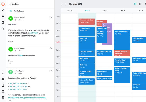 Woven is a calendar assistant you might actually use