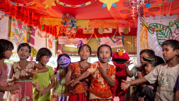 The LEGO Foundation gives the Sesame Workshop $100 million