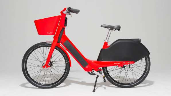 Uber and Jump rebuilt the bike from the ground up