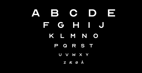 Download the Optician Sans, the historic eye chart font