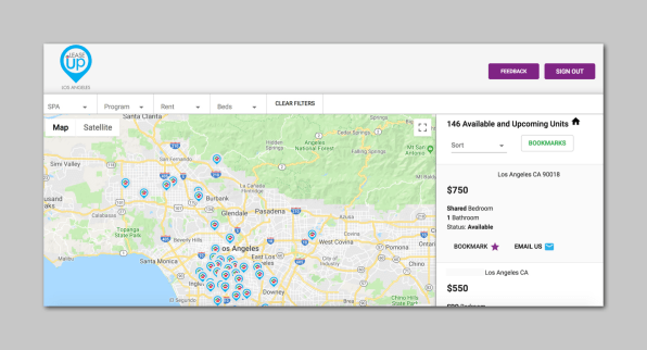 This platform helps find apartments for L.A.'s homeless people on