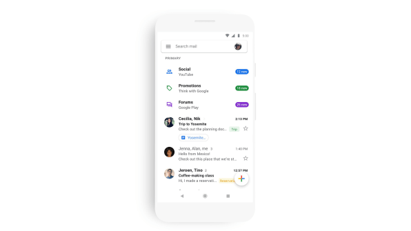 Google redesigns Gmail, Docs, Google Drive to be consistent