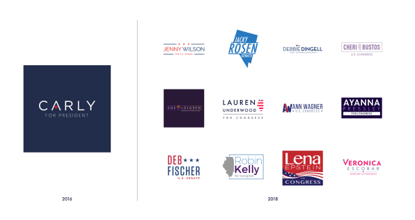 Best Logos Of 2020 The top trends in political branding ahead of the 2020 presidential el