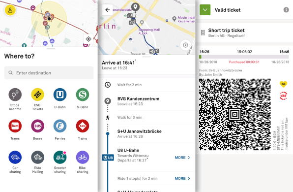 In Berlin, there's now one app to access every mode of transportation