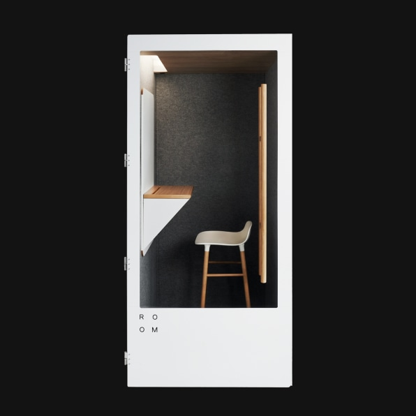 Phone booth cubicles are the hot new open plan office trend