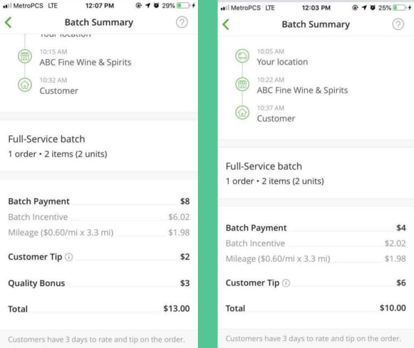 Docs challenge Instacart claim that all tips go to workers