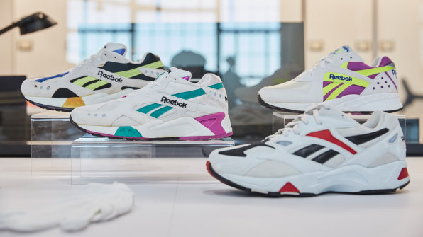 How Reebok is turning 1990s nostalgia into sneaker sales