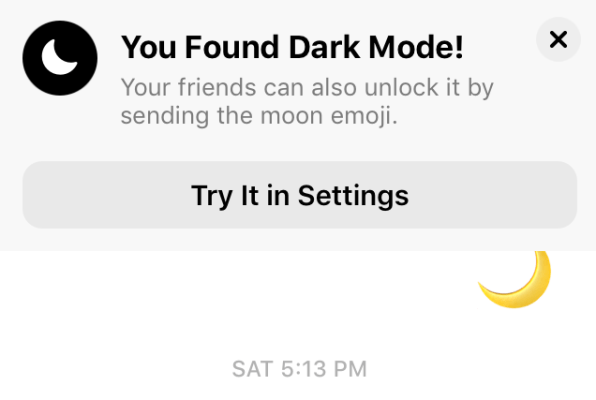 Facebook Messenger Dark Mode: How to turn it on using the crescent moo
