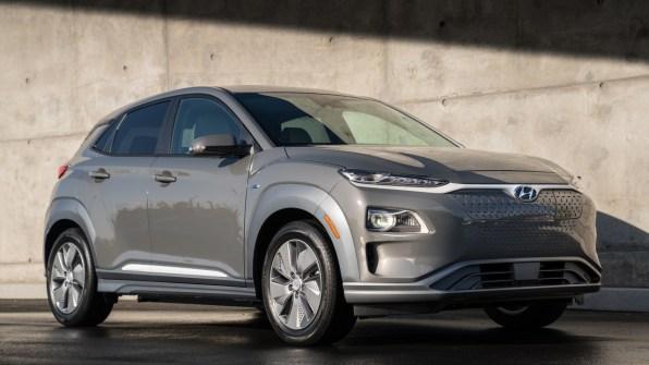 The Hyundai Kona Electric Photo