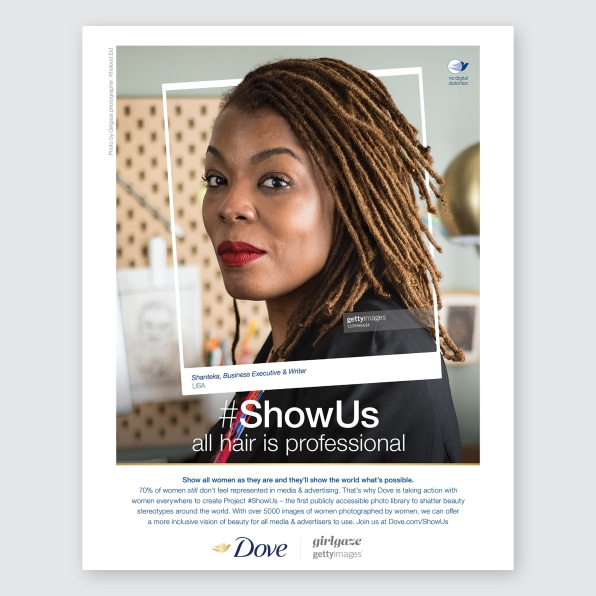 Getty's Project #ShowUs adds more empowering images of women