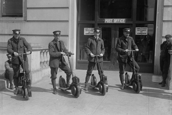 The scooter wars are actually a century old