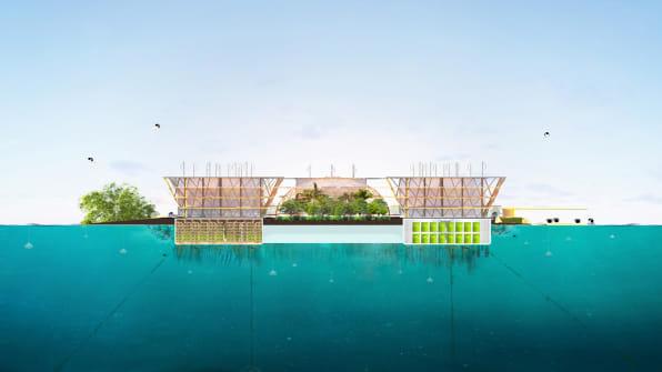 Hasil gambar untuk oceanix city