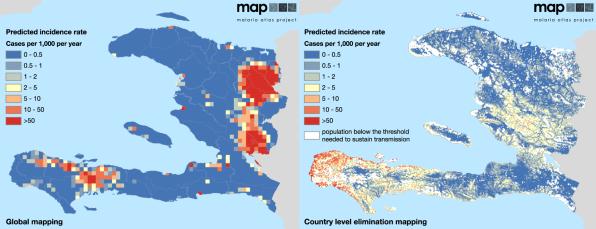 Image: GatesNotes / Malaria Atlas Project
