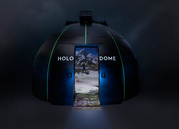 "Paul Allen's virtual reality ""Holodome"" went to TED looking for partners"