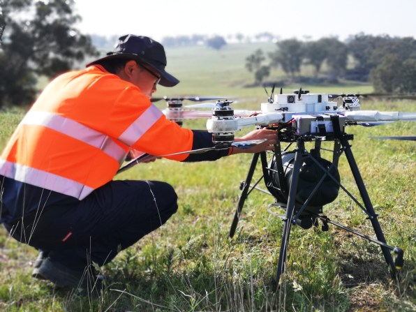 Biocarbon Engineering's tree-planting drones are flying in