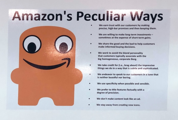 Peccy is the mascot you didn't know Amazon had