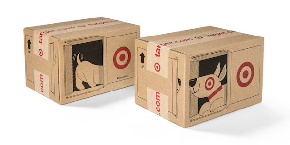 Amazon and Target race to revolutionize the cardboard