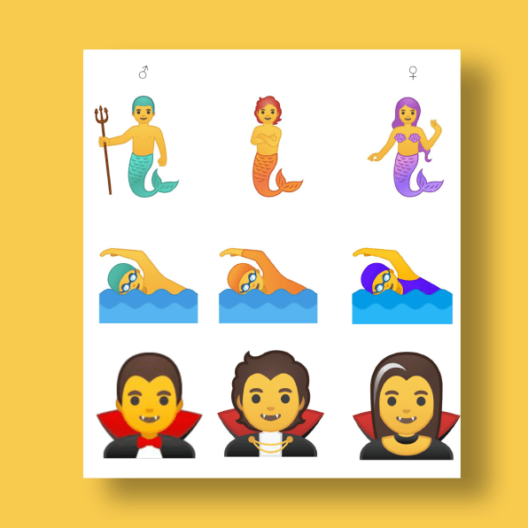 Google releases gender fluid emoji