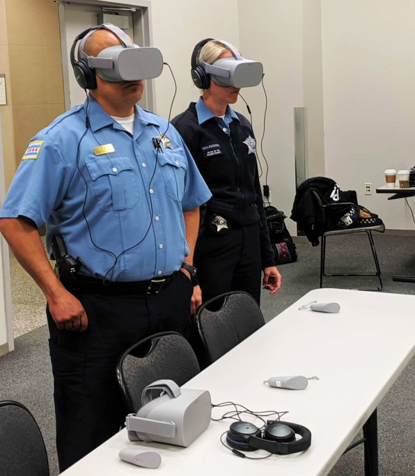 VR is training cops to empathize with the people they might kill