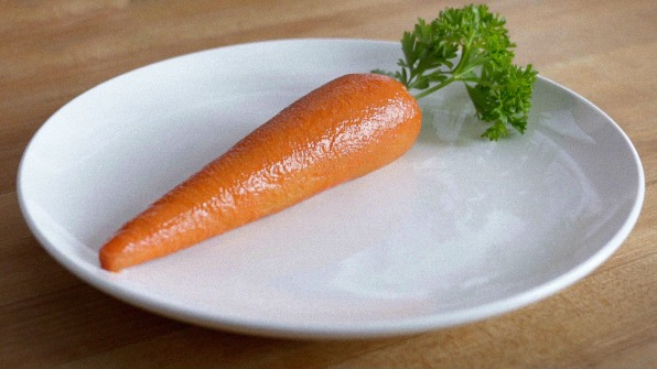Arby's is making carrots out of meat. Yes, meat