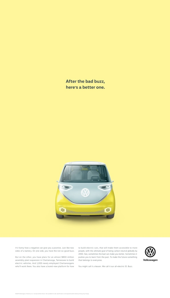 Why Vw Decided To Reference Its Scandal In New Ad Campaign