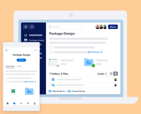 First look: The new Dropbox