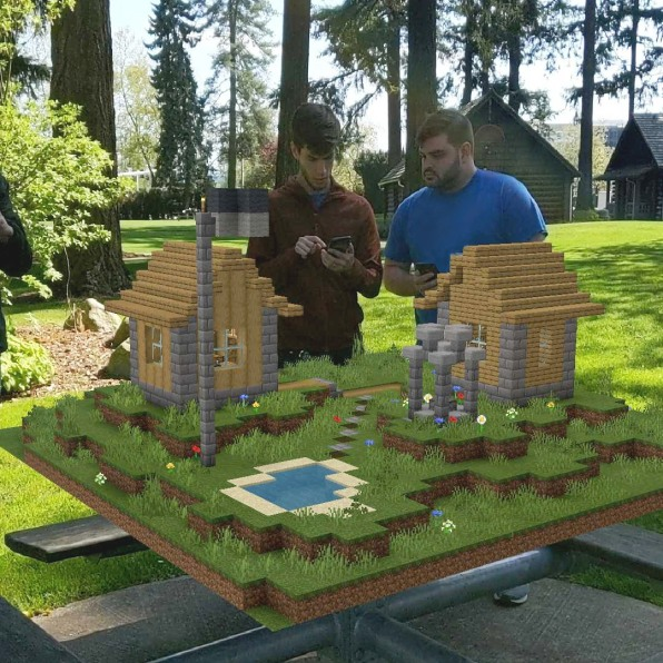 Minecraft Earth Brings Gaming To The Real World