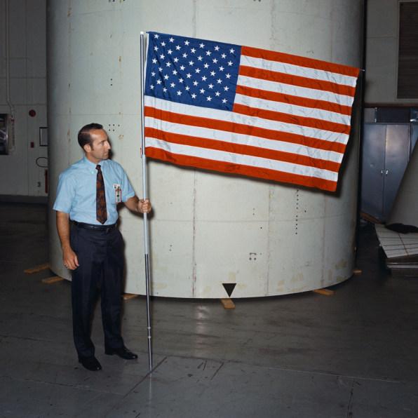 NASA Almost Forgot To Take A Flag To The Moon