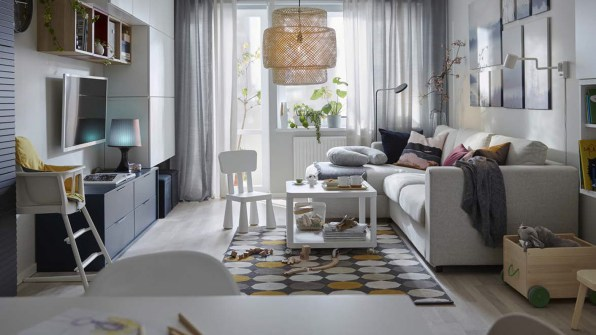 Ikea Living Room >> Ikea Surveyed Thousands Of People To Design 6 Homes Of The