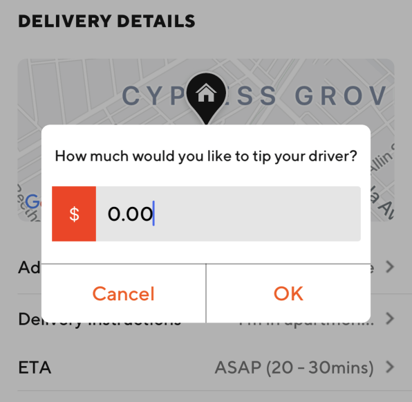 Here's how to stop DoorDash from deducting your tips