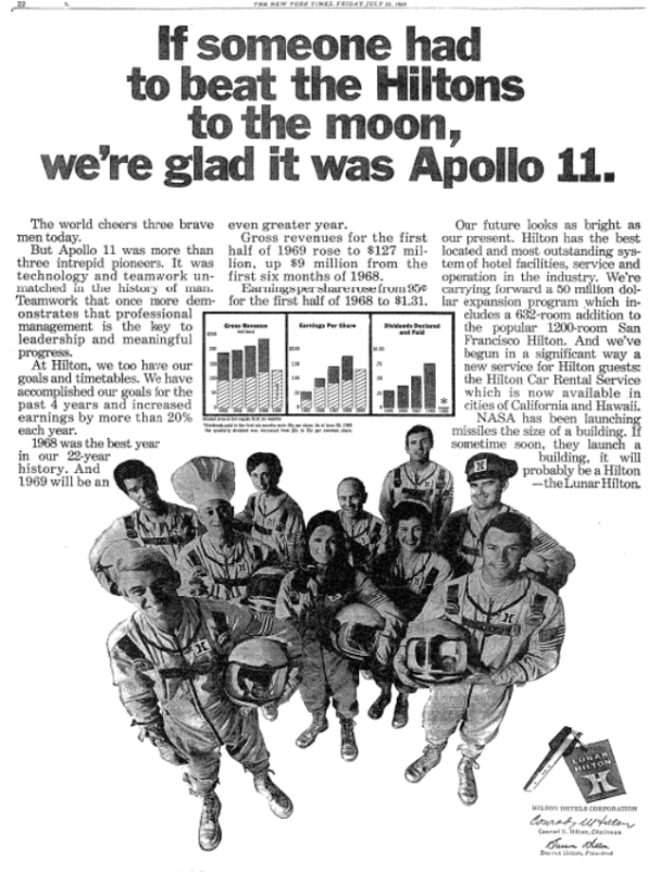 The best and worst ads that celebrated the Apollo 11 Moon
