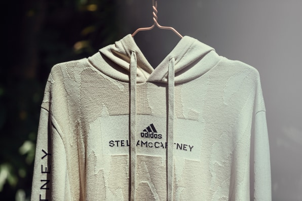 The Adidas By Stella Mccartney Hoodie Is Made From Old Clothes