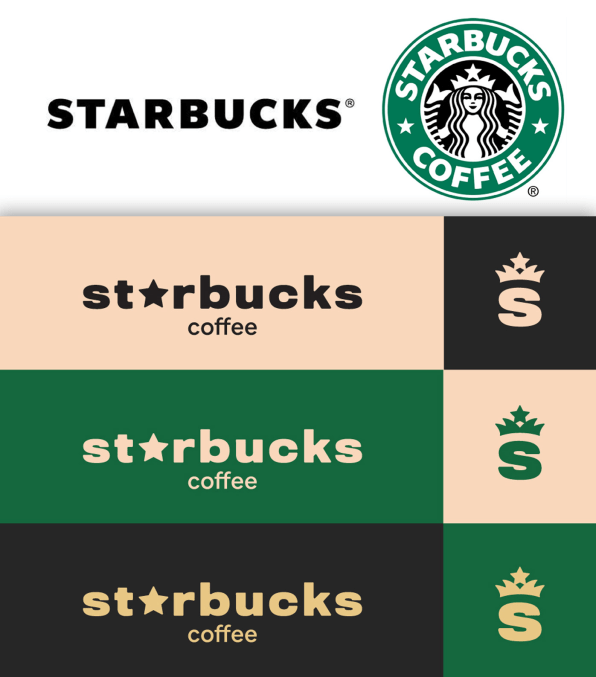 Starbucks Coffee Bean And Folgers Logos Get A Makeover