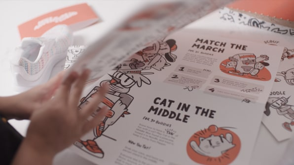 Nike launches Nike Adventure Club, a shoe subscription for kids