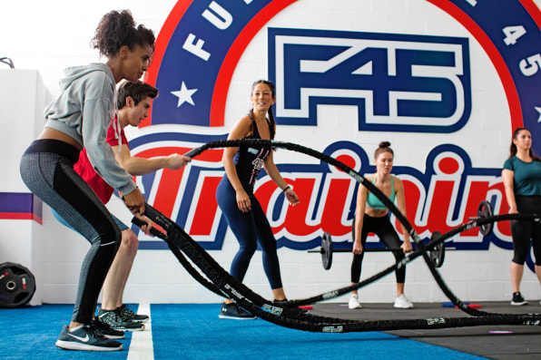 Why F45 Is The Fastest Growing Fitness Franchise And Workout Craze