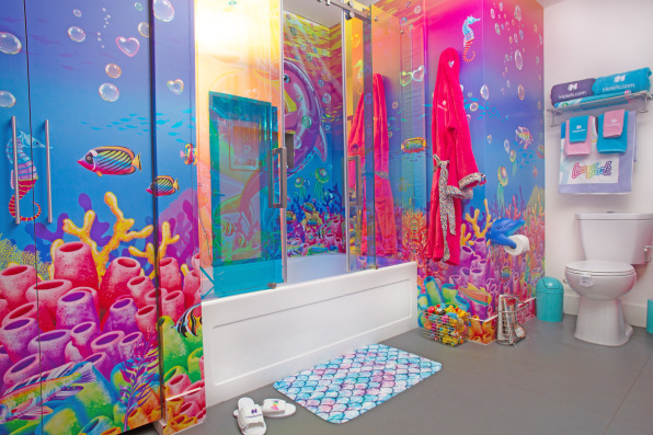 This Lisa Frank Hotel Room Is A Time Capsule For 90s Cool Kids