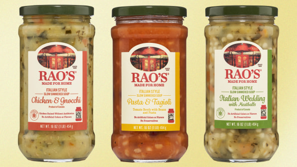 NYC restaurant Rao's, booked for decades, lets you buy soups