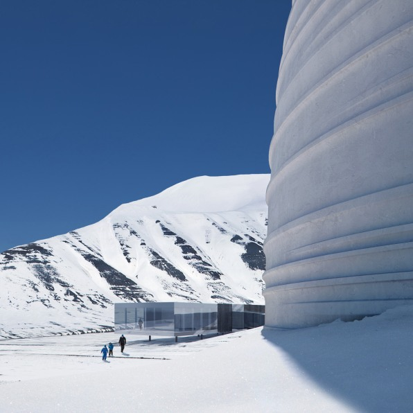 The Global Seed Vault Gets A Disquieting Visitor S Center